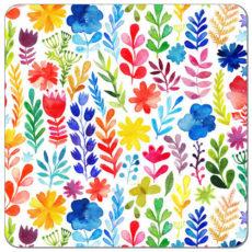 Wildflower Watercolor Cloth Diaper
